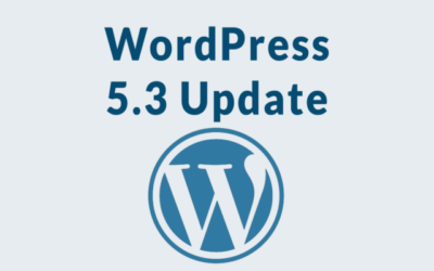 WordPress 5.3 Probleme